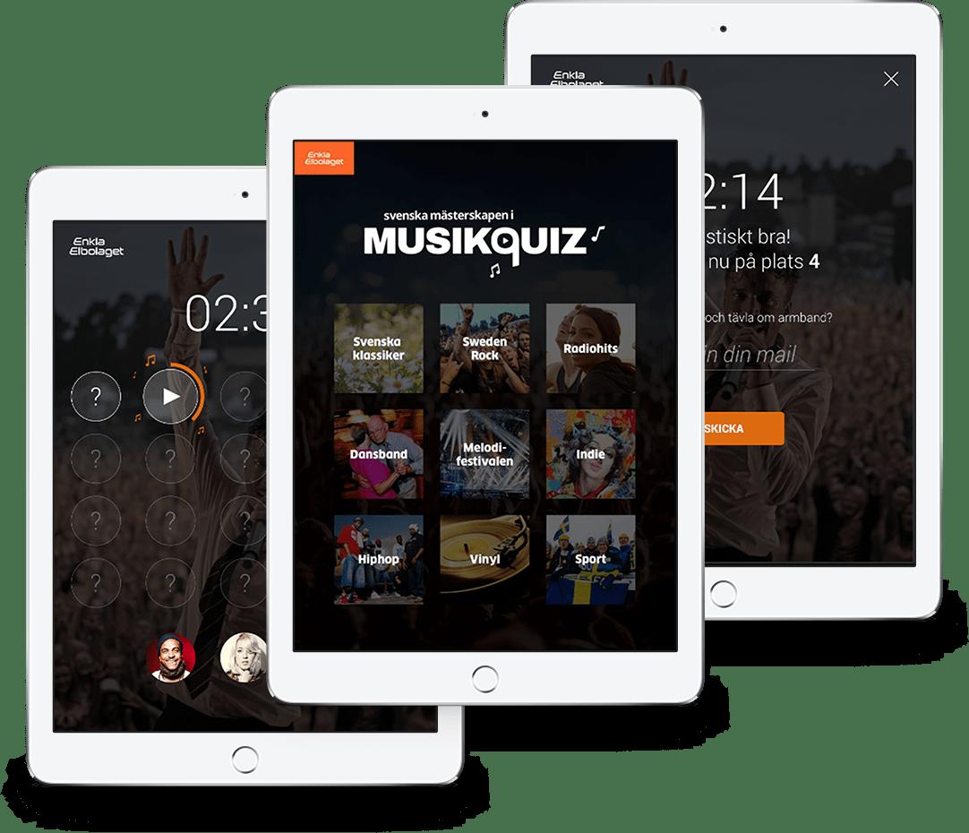 EnklaElbolaget-MusicQuiz